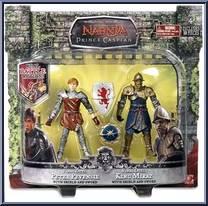 Chronicles of Narnia Prince Caspian Basic Figure 2Pack Faun Mentius /& Minotaur Asterius