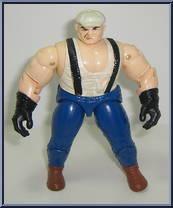 Louie the Plumber - C.O.P.S. N Crooks - Series 2 - Crooks - Hasbro Action  Figure