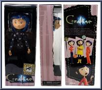 Coraline Star Sweater Sdcc Exclusive Coraline Bendy Dolls Neca Action Figure