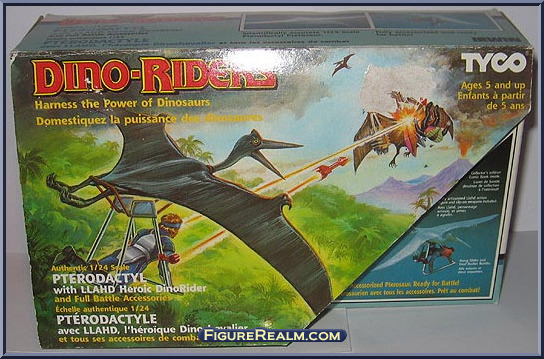 Les jouets DINO-RIDERS ( dinoriders ) - IDEAL - Page 2 Pterodactyl-Front
