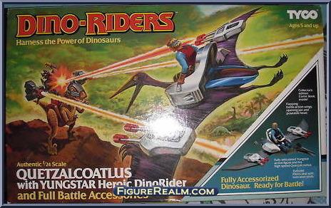 Les jouets DINO-RIDERS ( dinoriders ) - IDEAL - Page 2 QuetzalcoatlusYungstar-Front