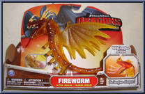 how to train your dragon fireworm toy