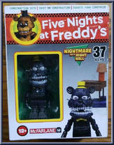 Five Nights At Freddy's FNaF Nightmare with Right Hall McFarlane Toys