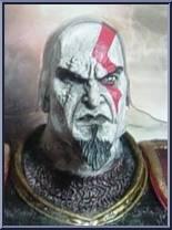 Kratos (Ares Armor) (Closed Mouth) - God of War - God of War II