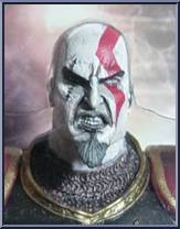 Kratos (Ares Armor) (Open Mouth) - God of War - God of War