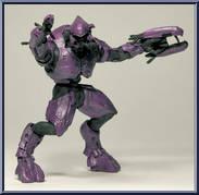 REVIEW: MEGA Bloks Halo Covenant Wraith | The Test Pit  |Covenant Wraith Purple