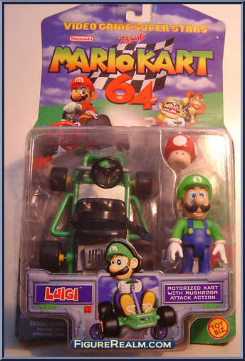 Luigi Mario Kart 64 Review