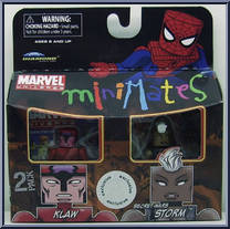 Marvel Minimates TRU Toys R Us Wave 12 Secret War Captain America