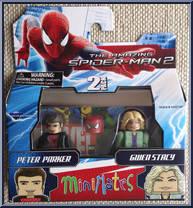 Marvel Minimates série 46 Amazing Spider-Man Movie Peter Parker