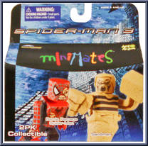 Marvel Minimates série 17 Spider-Man Movie Sandman
