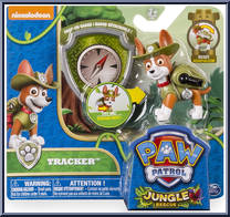 Paw Patrol Tracker Action Pack Pups With Badge