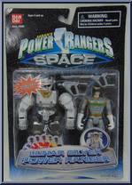 lunar silver power ranger power rangers in space lunar rangers bandai action figure 2
