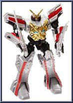Bandai Power Rangers Megaforce Deluxe ULTIMATE GOSEI Megazord Action Figure!