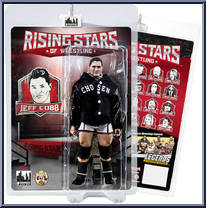 Trevor Lee Figures Toy Company Wrestling Rising Stars Action Figures Series
