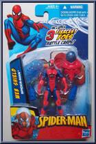 Spider Man Web Shield Spider Man 2010 Wave 2 Hasbro Action Figure
