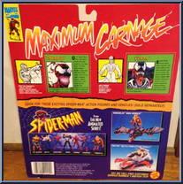 Carnage Vs Venom Spider Man Maximum Carnage Toy Biz Action Figure