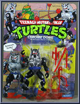 1991 Chrome Dome Neutron Ninja Sword Long TMNT Teenage Mutant Ninja Turtles