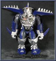 Shredder Teenage Mutant Ninja Turtles Cyber Samurai Playmates Action Figure