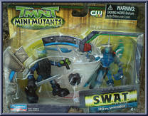 Leo Vs Shredder S W A T Teenage Mutant Ninja Turtles 2007 Movie Mini Mutants Playmates Action Figure