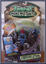 Exoskeleton Shredder Teenage Mutant Ninja Turtles 2007 Movie Mini Mutants Playmates Action Figure