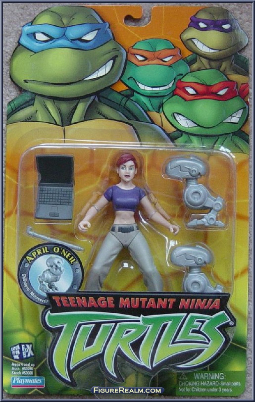 Teenage Mutant Ninja Turtles 2003 Toys : April o neil teenage mutant ninja turtles animated