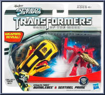 Bumblebee & Sentinel Prime - Transformers - Dark of the Moon
