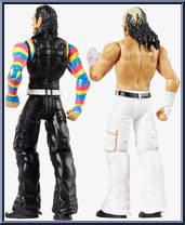 WWE Battle Packs 59 Mattel Toy Action Figures Matt Hardy /& Jeff Hardy
