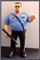 Big Boss Man Wwf Series 1 Hasbro Action Figure