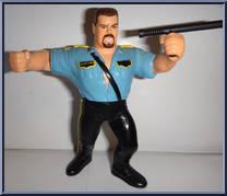 Big Boss Man Wwf Series 3 Hasbro Action Figure