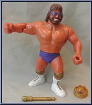 WWF Hasbro Macho Man King Wrestling Action Figure-Series 2