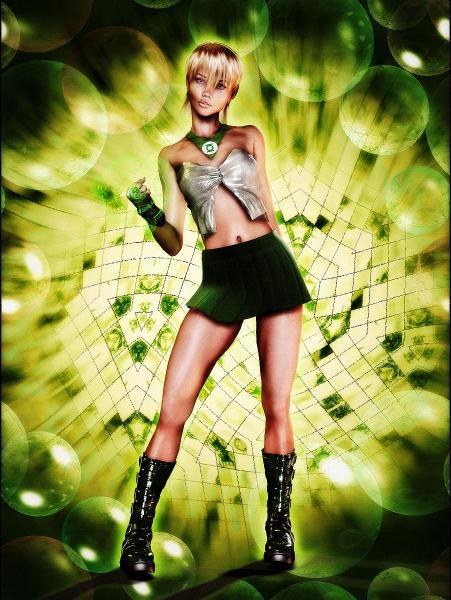 Arisia - DC Comics - Green Lantern Corps - Character