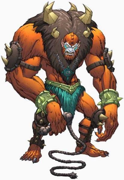 beast man character profile