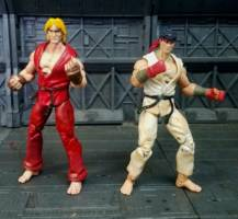 Ryu And Ken Street Fighter Custom Action Figure