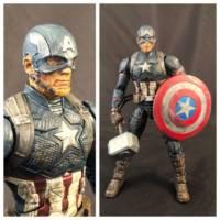 Worthy Captain America Endgame Finale Battle Marvel Legends