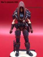 JOE Zartan Custom cardées figurine Display Mini-Figure G.I