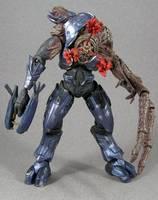 Food Combat Elite Form (Halo) Custom Action Figure
