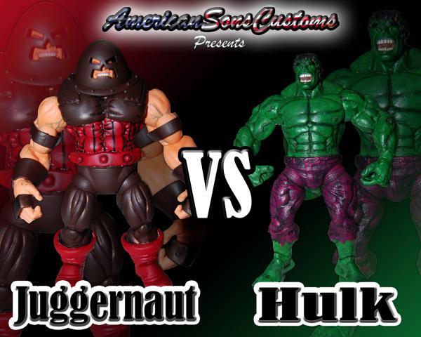 Red Hulk Vs Trion Juggernaut: Dove Tattoo: Juggernaut Vs Hulk