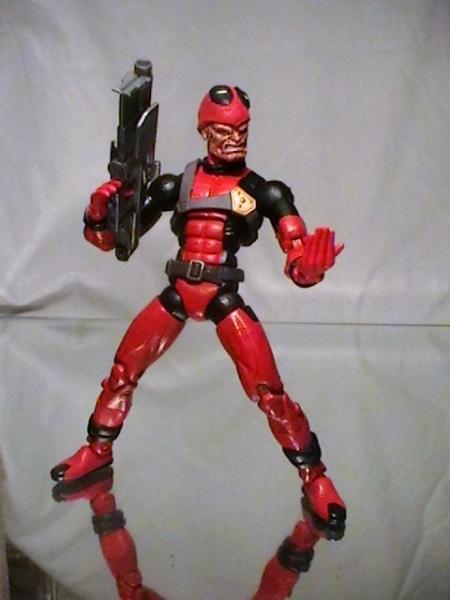 Unmasked Deadpool Cust...