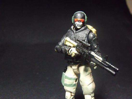 Call of Duty MW2 Ghost Custom Action Figure