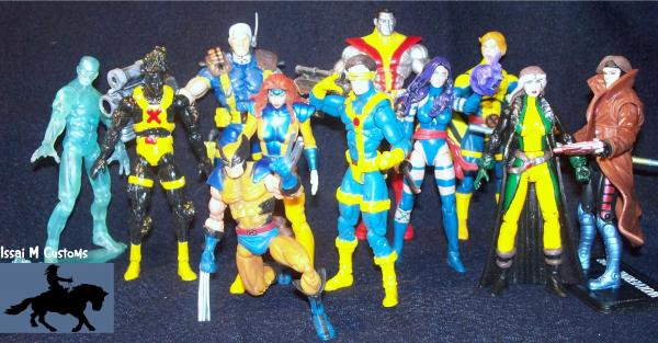 Banshee marvel universe custom action figure