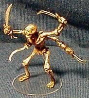 Skeletal Tomb Guardian Dungeons And Dragons Custom Miniature Figurine
