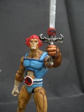 Thunder Cats Action Figures on Thundercats Custom Action Figure