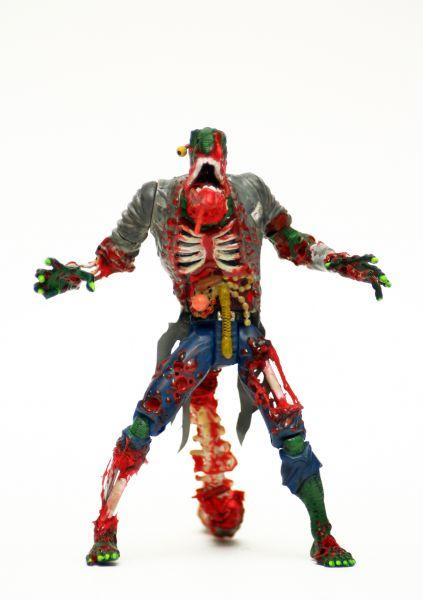 zombie lizard spider man custom action figure. Black Bedroom Furniture Sets. Home Design Ideas