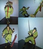 Jubei Kibagami Of Ninja Scroll Anime Custom Action Figure