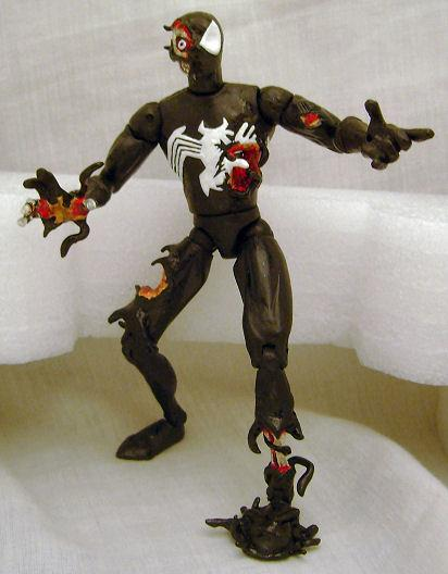 Spiderman symbiotes toys