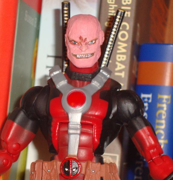 Deadpool Unmasked Cust...
