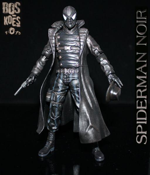Spider Man Noir Costume Marvel Heroes Spiderman noir. marvel legends