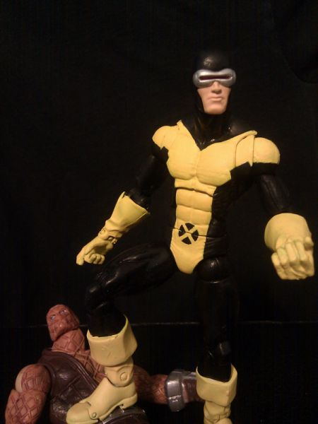 Cyclops  First Class   Marvel Legends  Custom Action FigureX Men Cyclops First Class