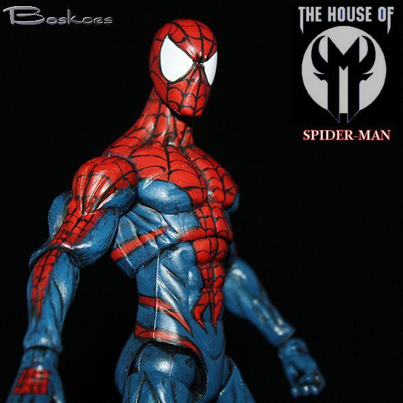 M Spiderman House of M Spiderman Custom