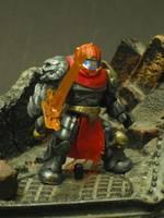 Halo Mega Bloks Spartan: War (Halo) Custom Miniature / Figurine